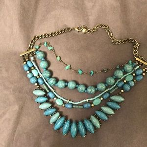 BaubleBar turquoise necklace